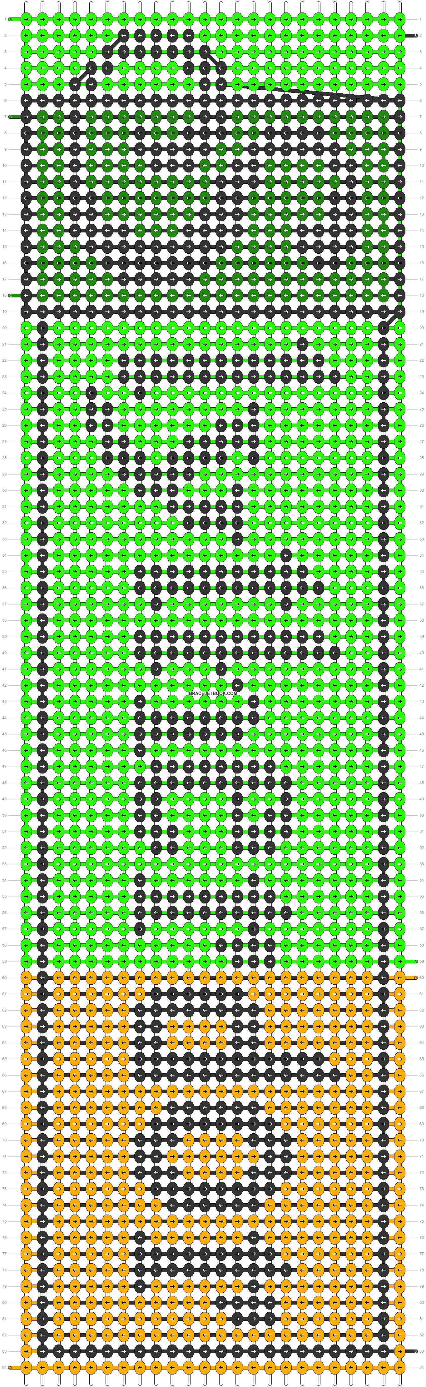 Alpha pattern #29268 pattern