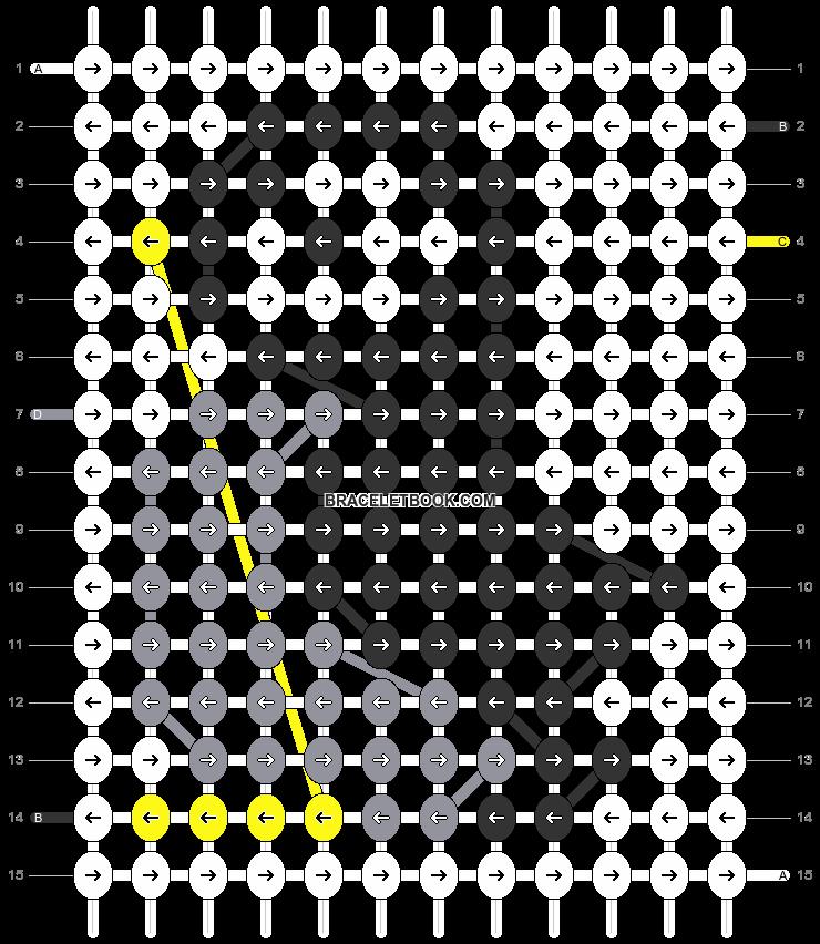 Alpha pattern #29274 pattern