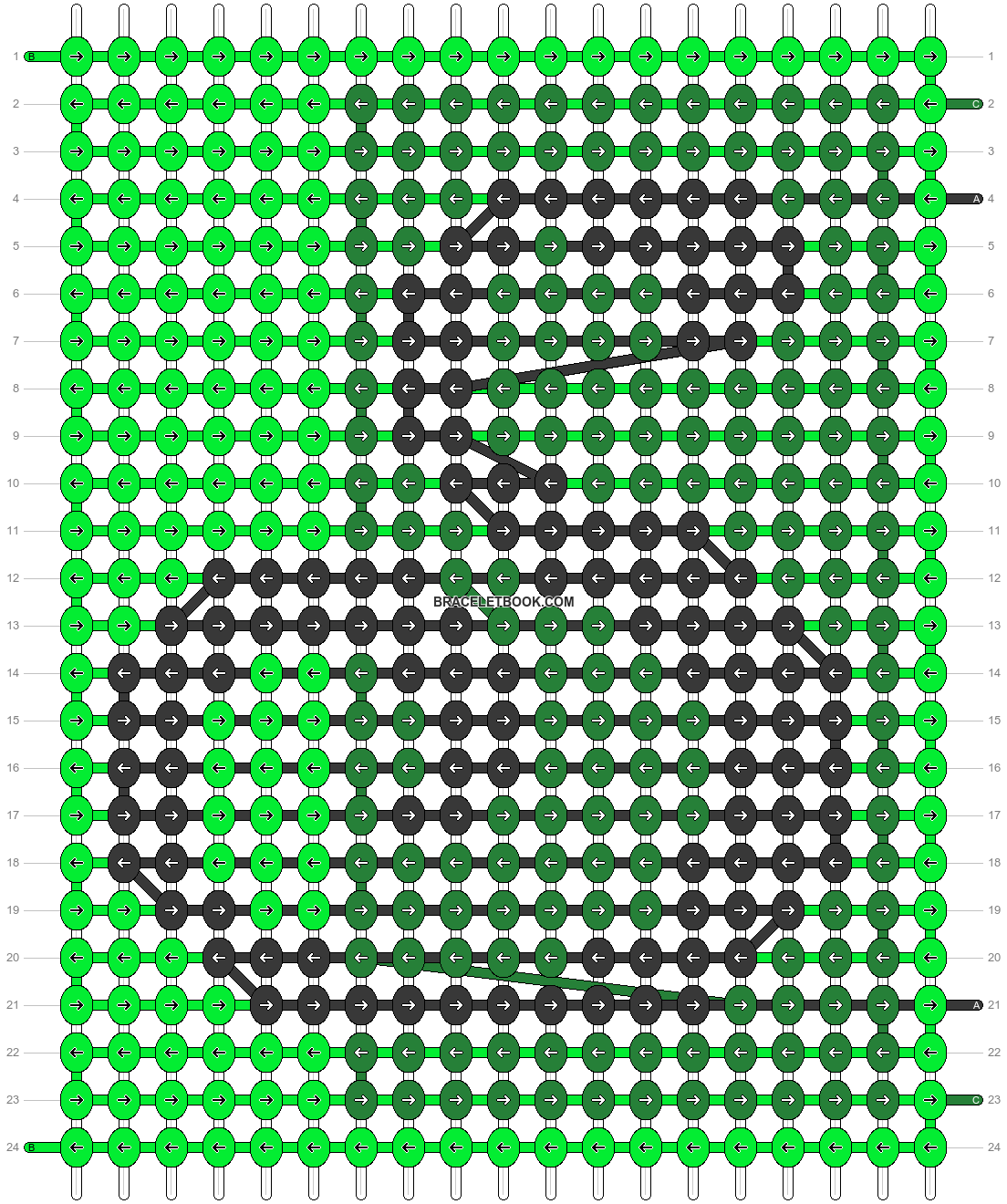Alpha pattern #29276 pattern