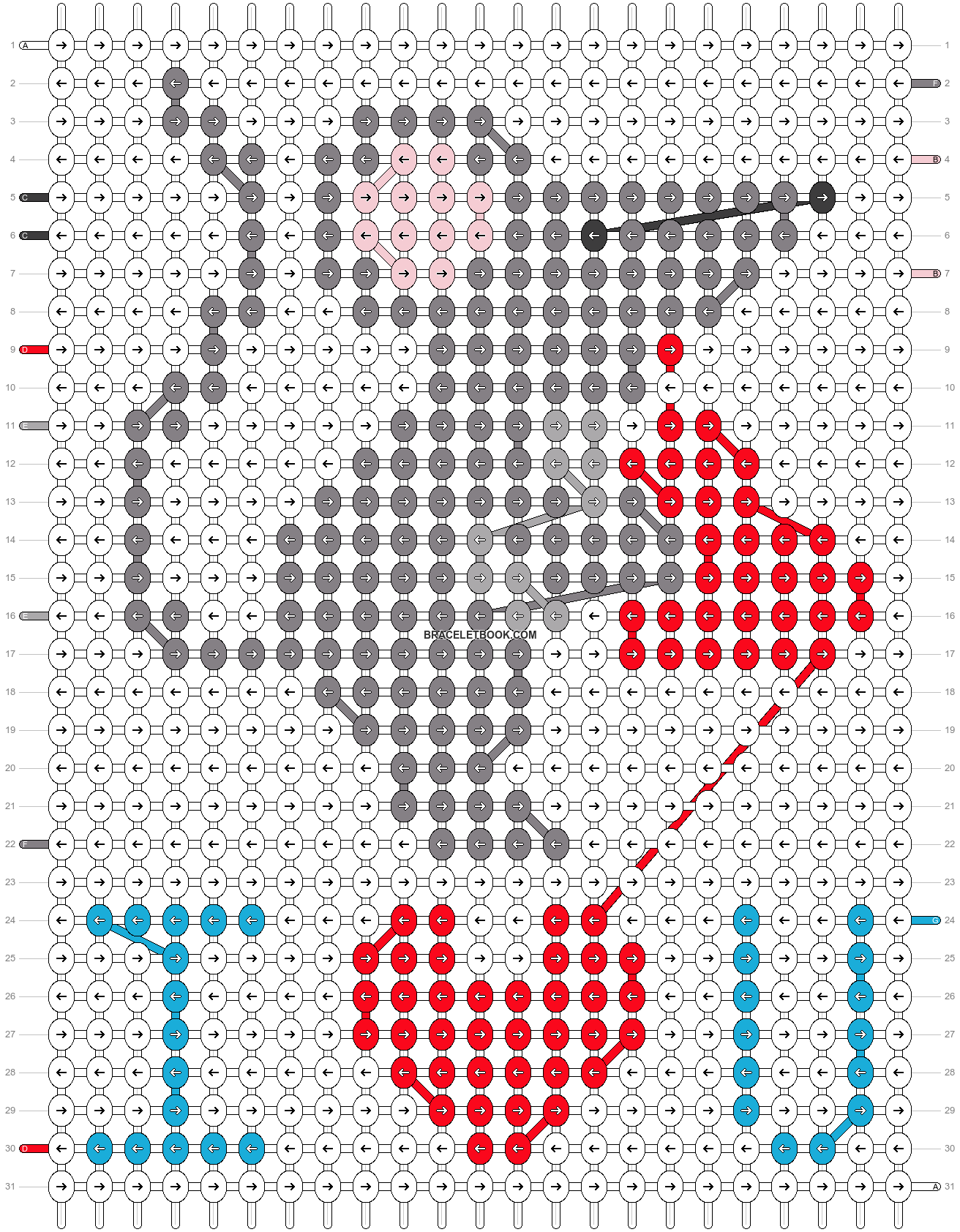 Alpha pattern #29282 pattern