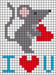 Alpha pattern #29282