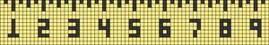 Alpha pattern #29305