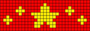 Alpha pattern #29309