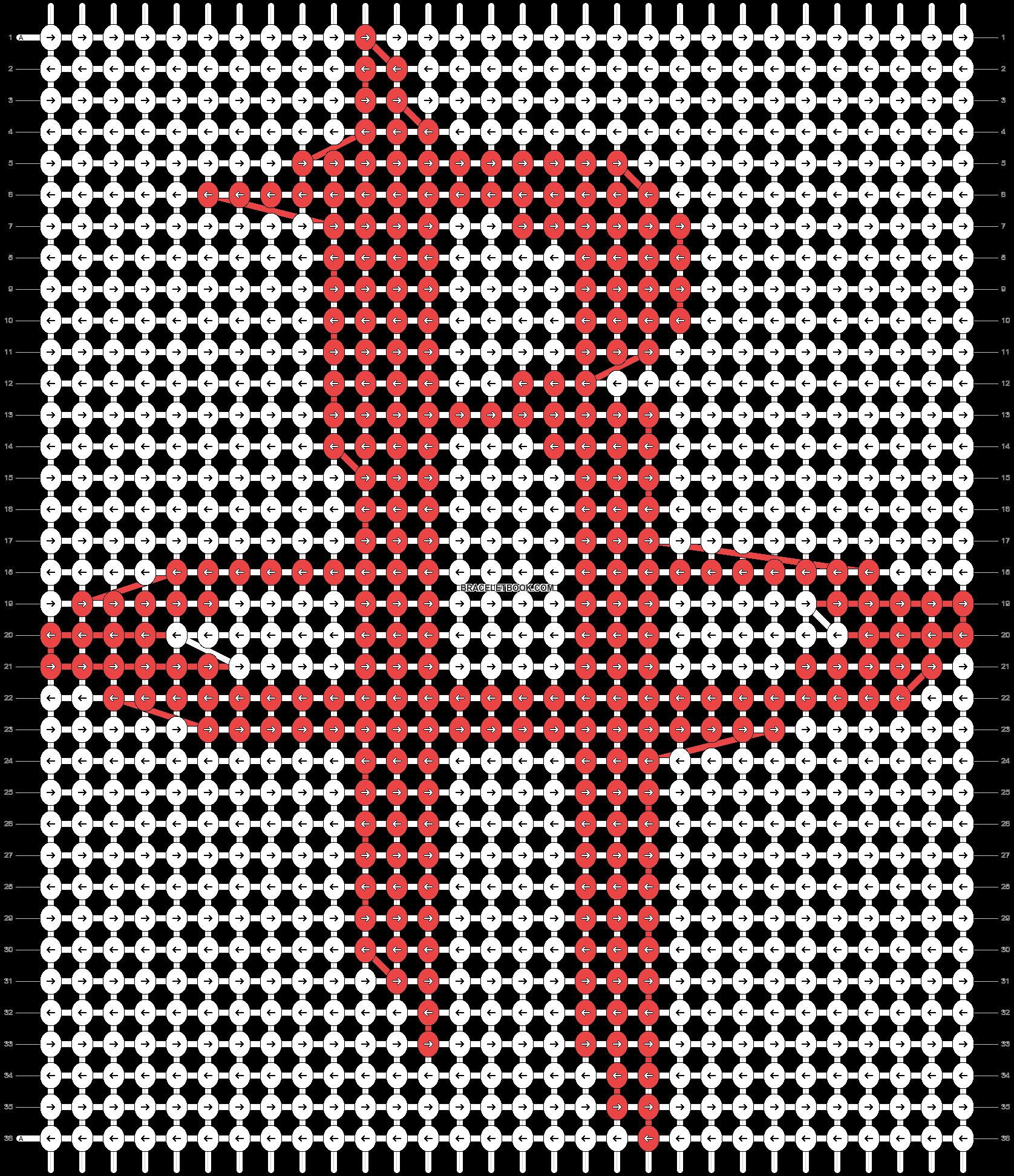 Alpha pattern #29325 pattern
