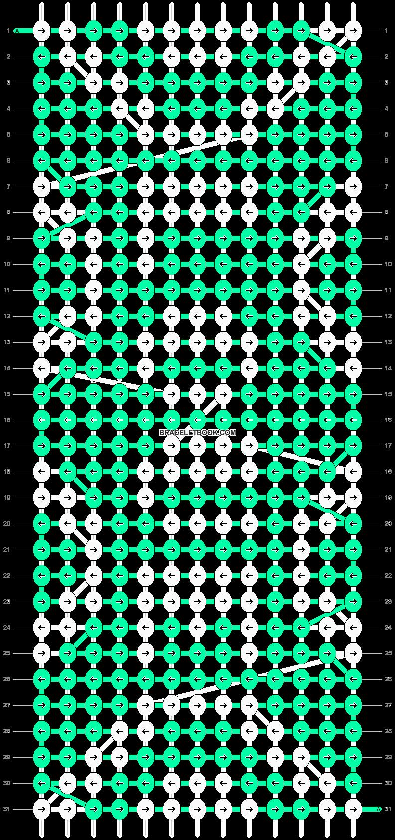 Alpha pattern #29338 pattern