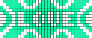 Alpha pattern #29338