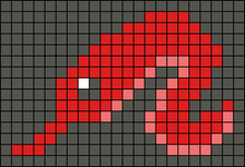 Alpha pattern #29358