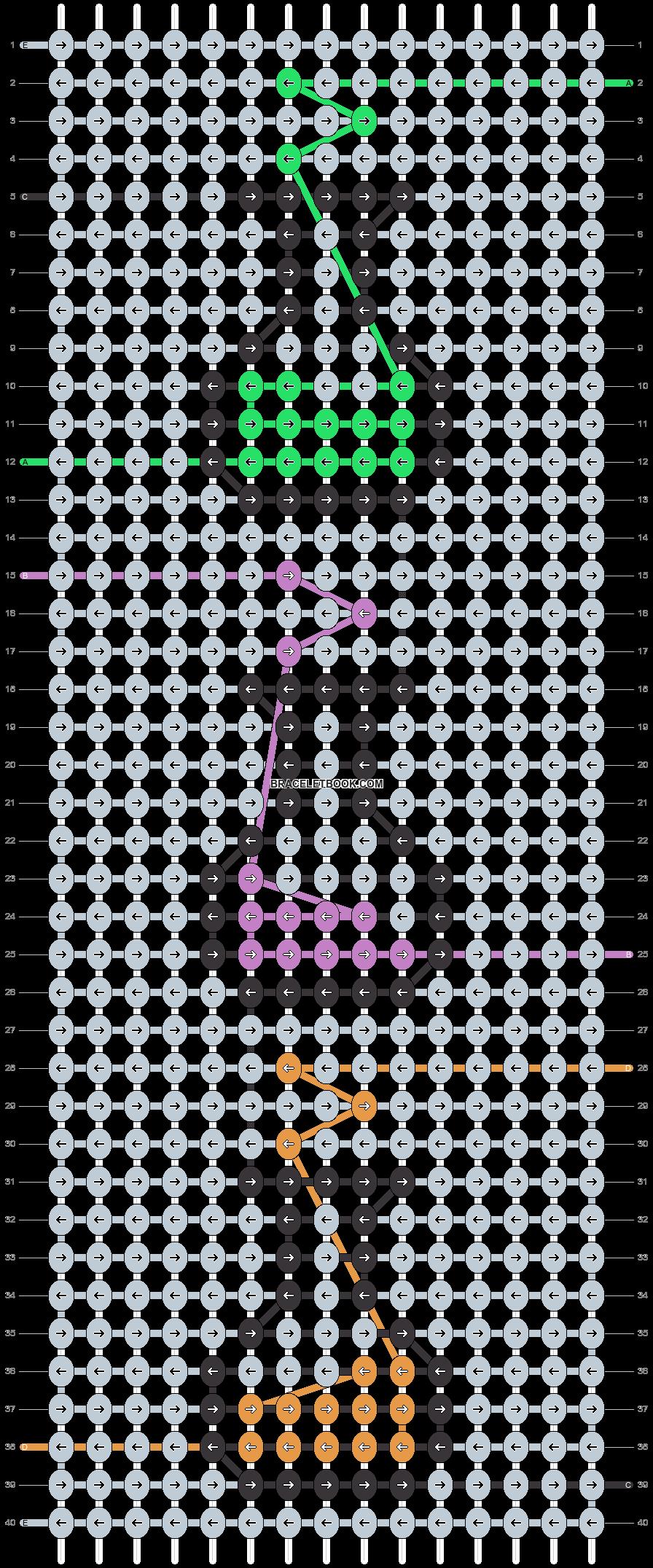 Alpha pattern #29368 pattern