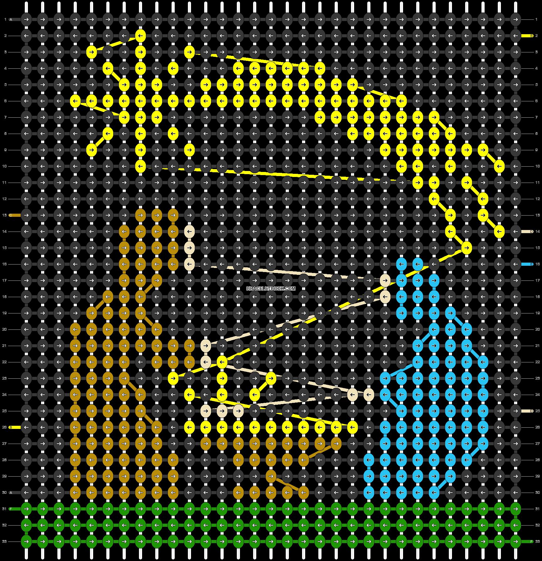 Alpha pattern #29371 pattern