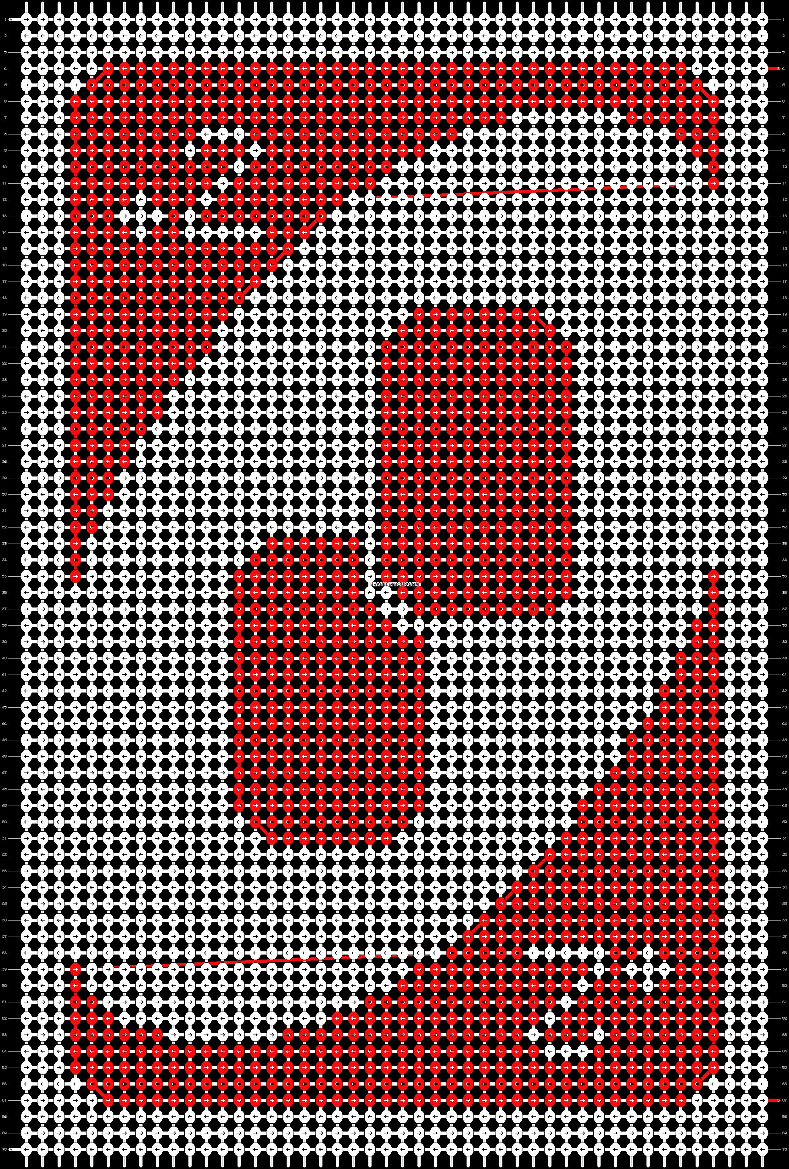 Alpha pattern #29374 pattern