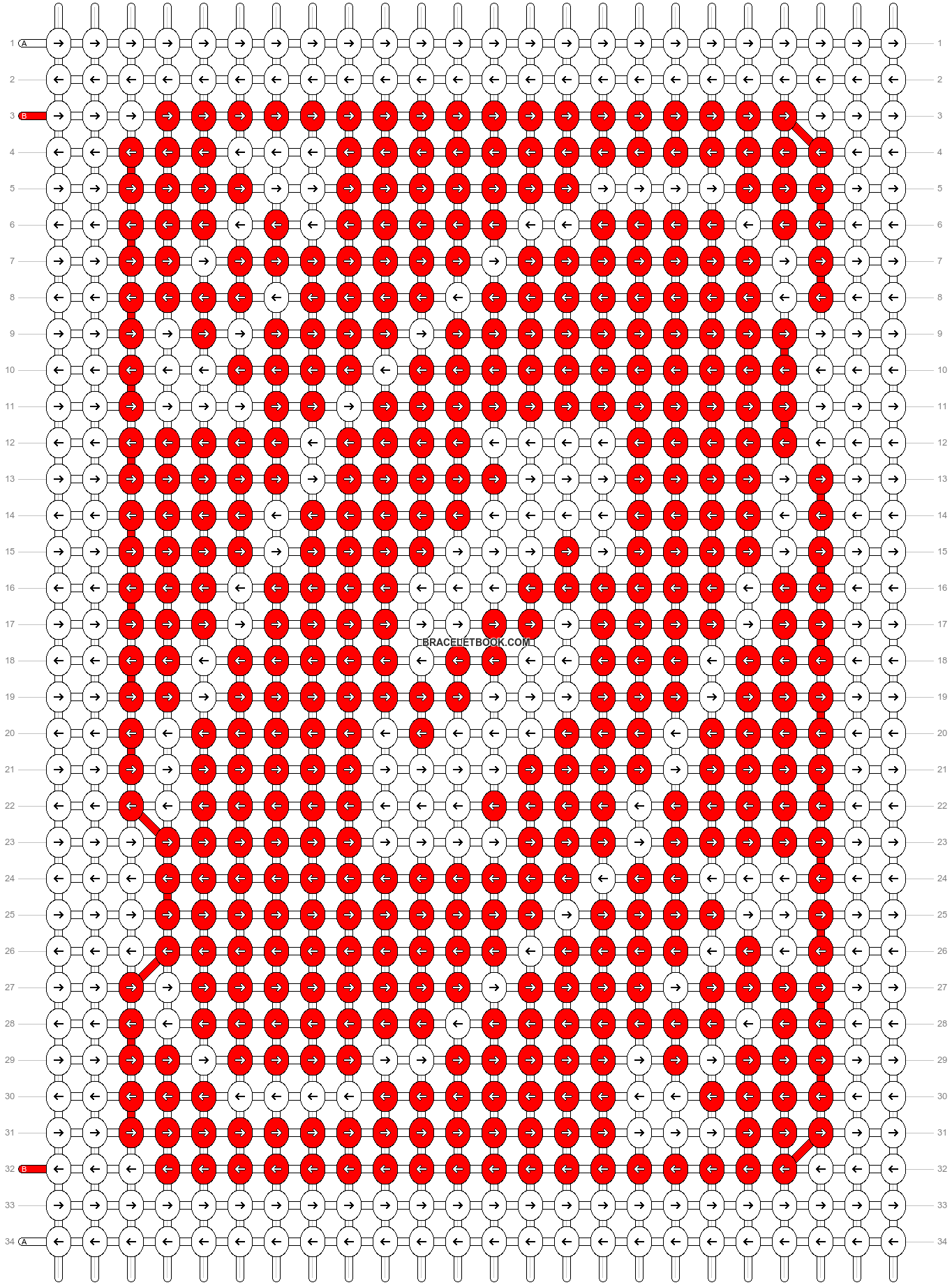 Alpha pattern #29409 pattern