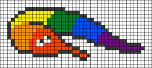 Alpha pattern #29411
