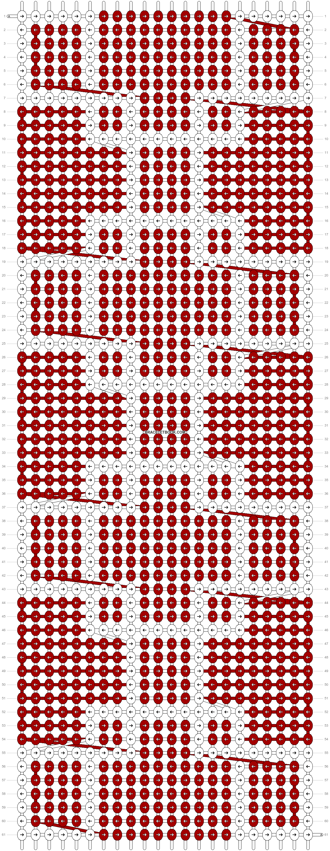 Alpha pattern #29457 pattern