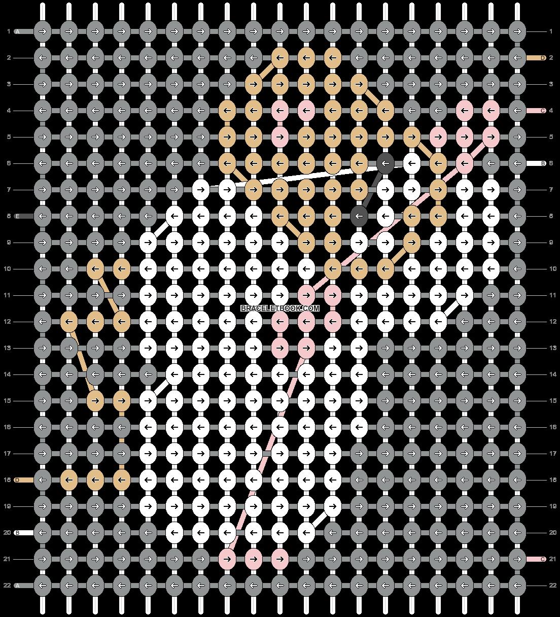 Alpha pattern #29462 pattern