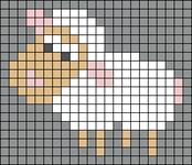 Alpha pattern #29462