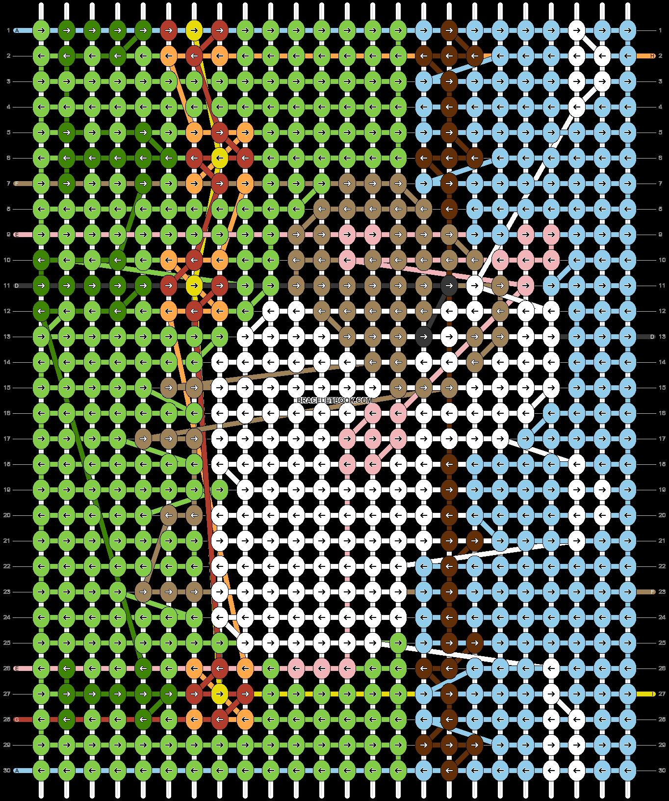 Alpha pattern #29463 pattern