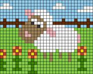 Alpha pattern #29463
