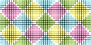 Alpha pattern #29481