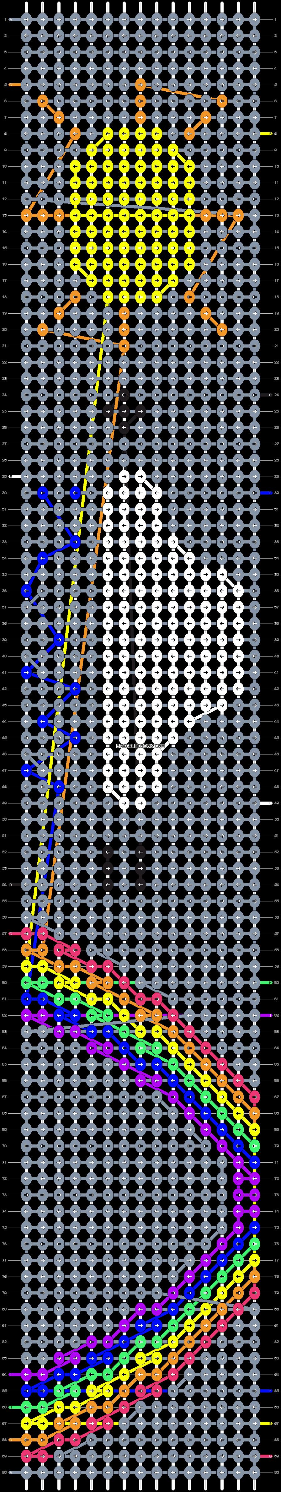 Alpha pattern #29496 pattern
