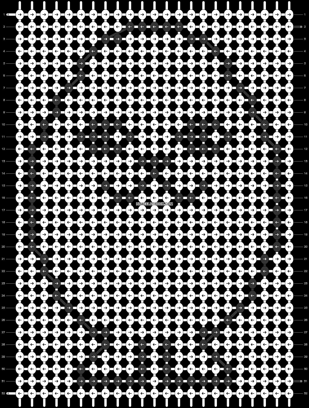 Alpha pattern #29511 pattern