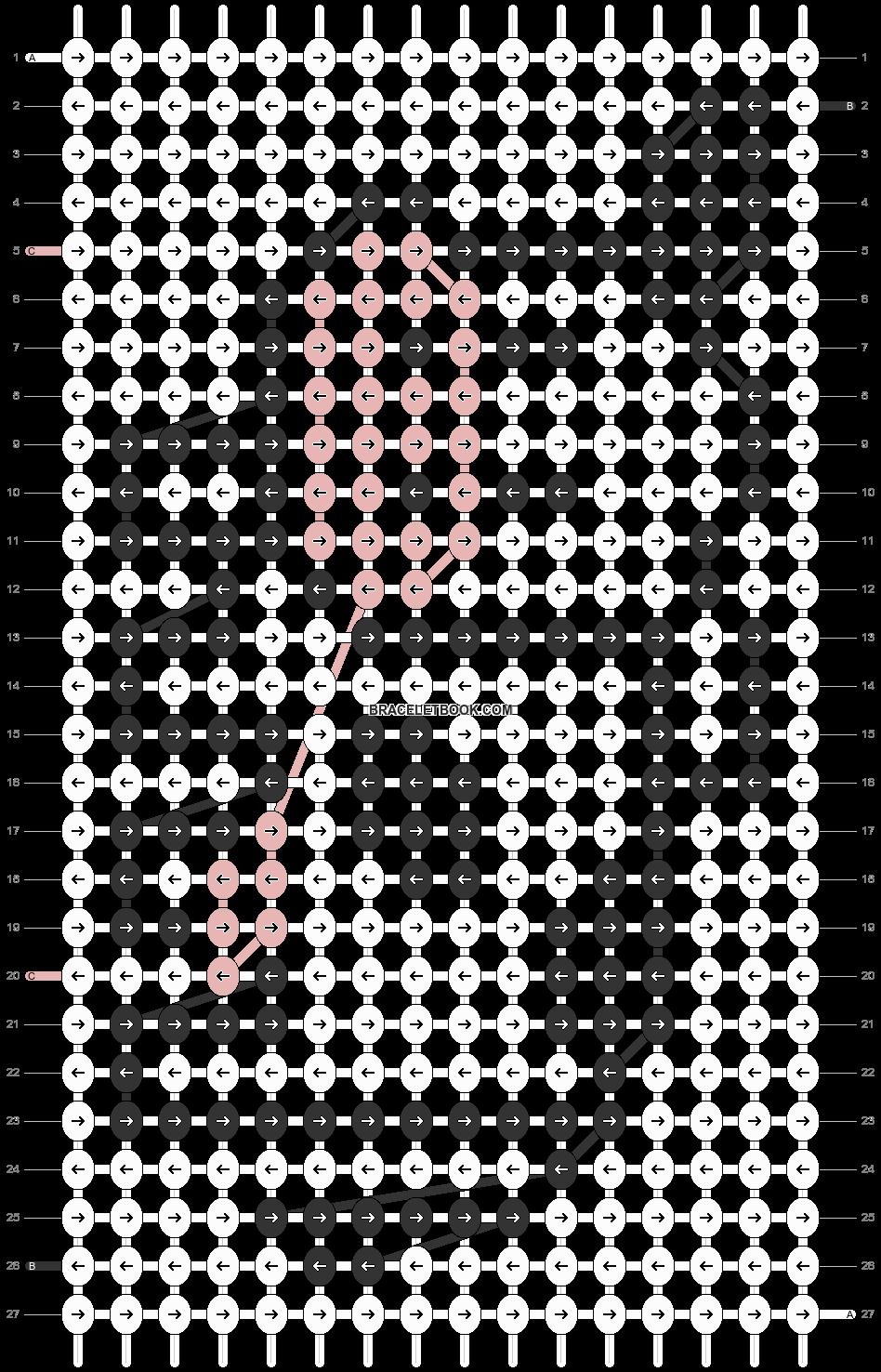 Alpha pattern #29513 pattern