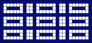 Alpha pattern #29516
