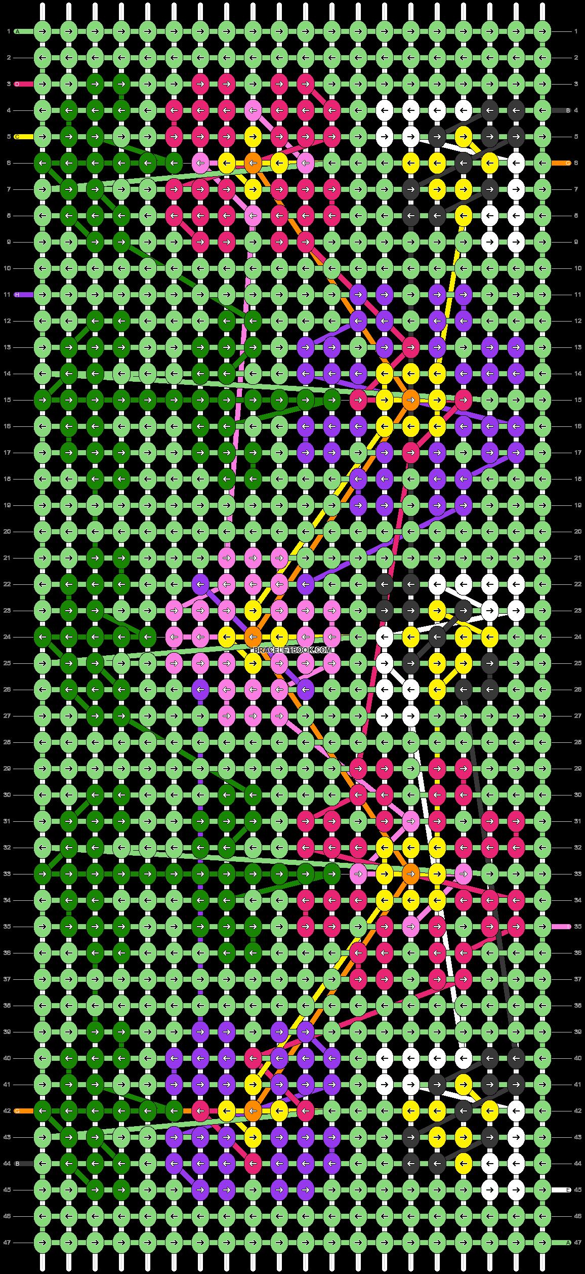 Alpha pattern #29520 pattern