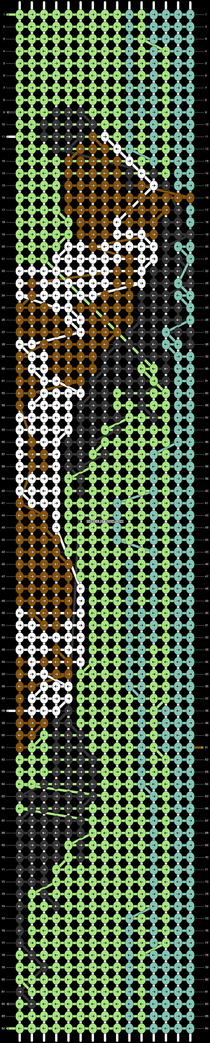 Alpha pattern #29522 pattern