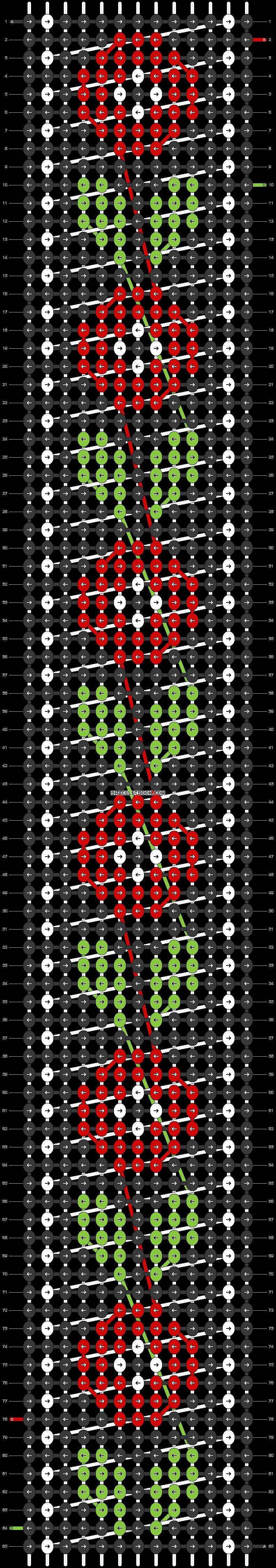 Alpha pattern #29523 pattern