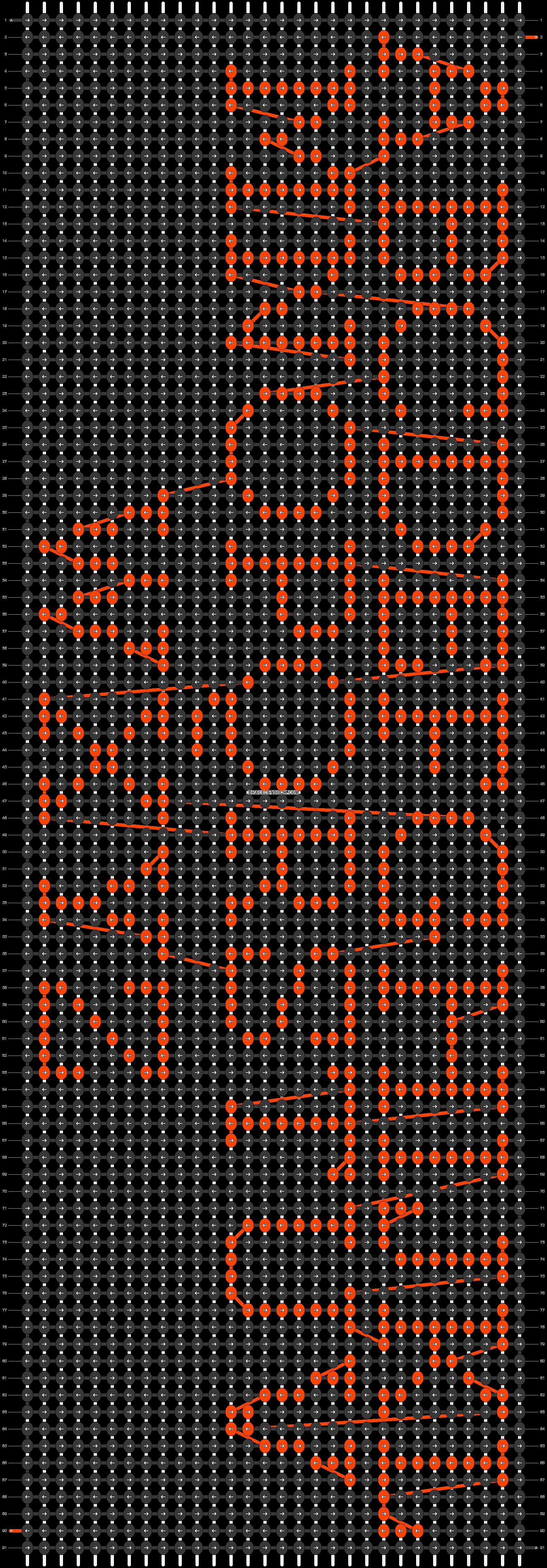 Alpha pattern #29539 pattern