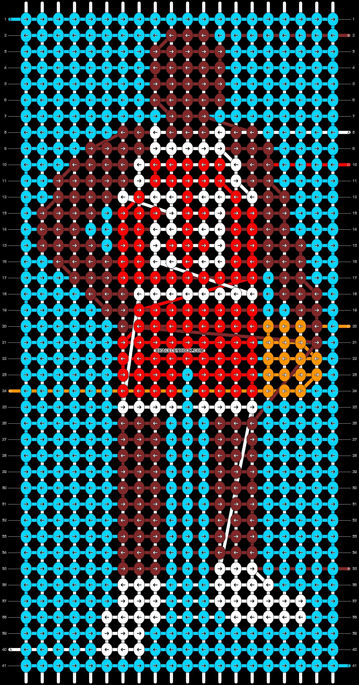 Alpha pattern #29543 pattern