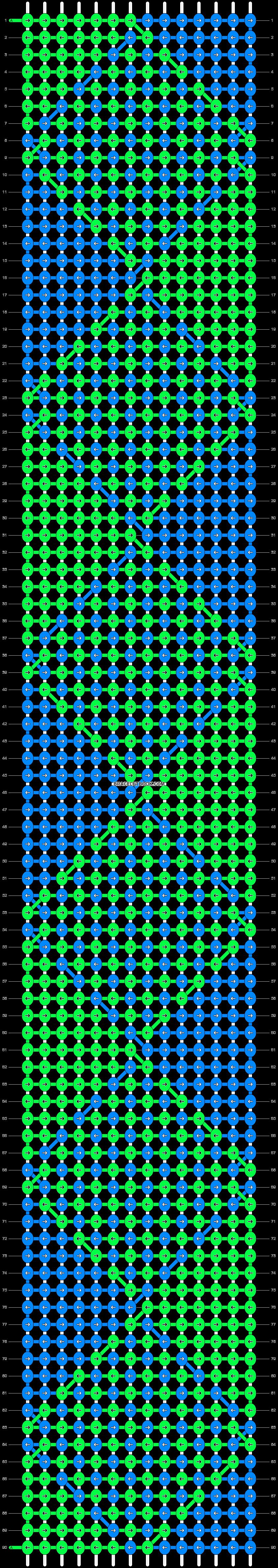 Alpha pattern #29565 pattern