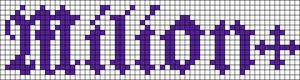 Alpha pattern #29583