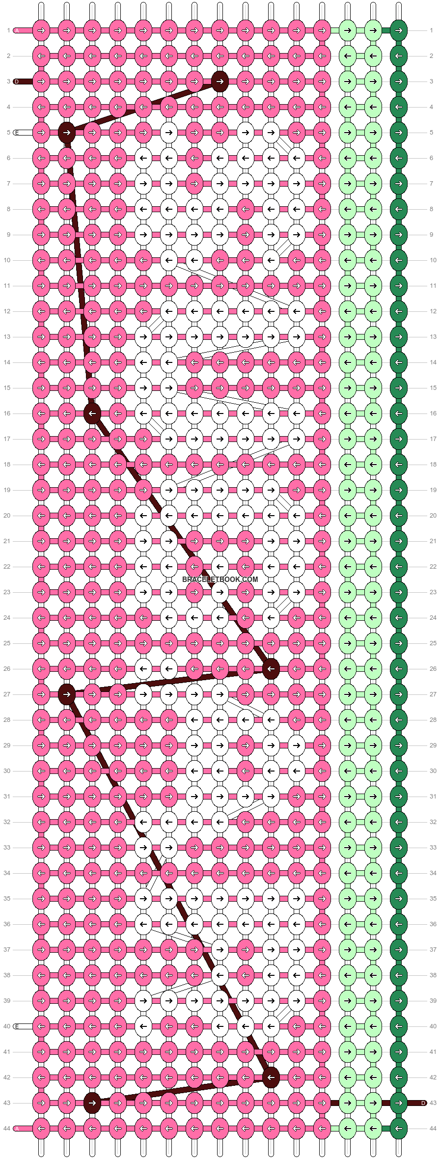 Alpha pattern #29608 pattern