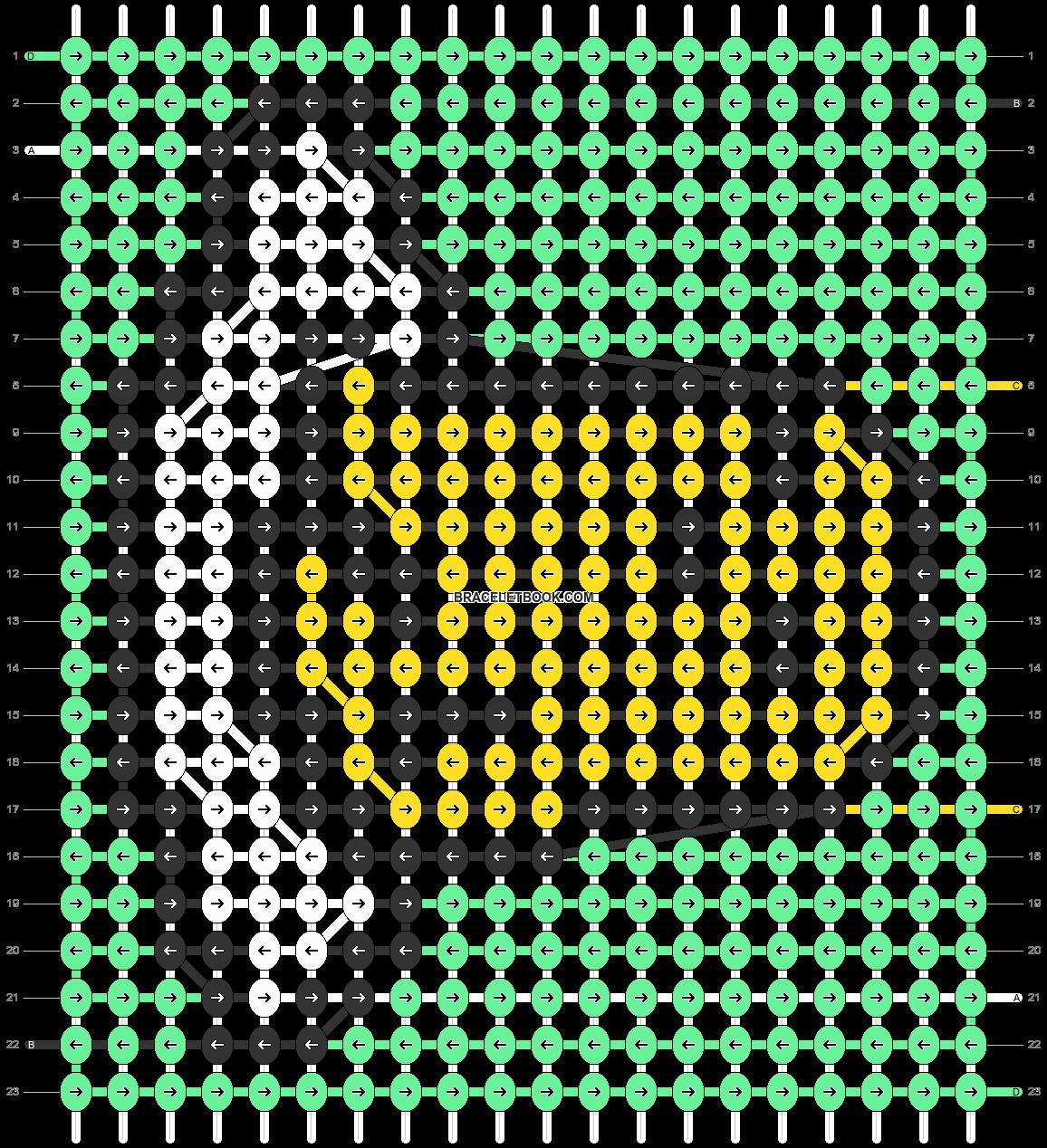 Alpha pattern #29611 pattern