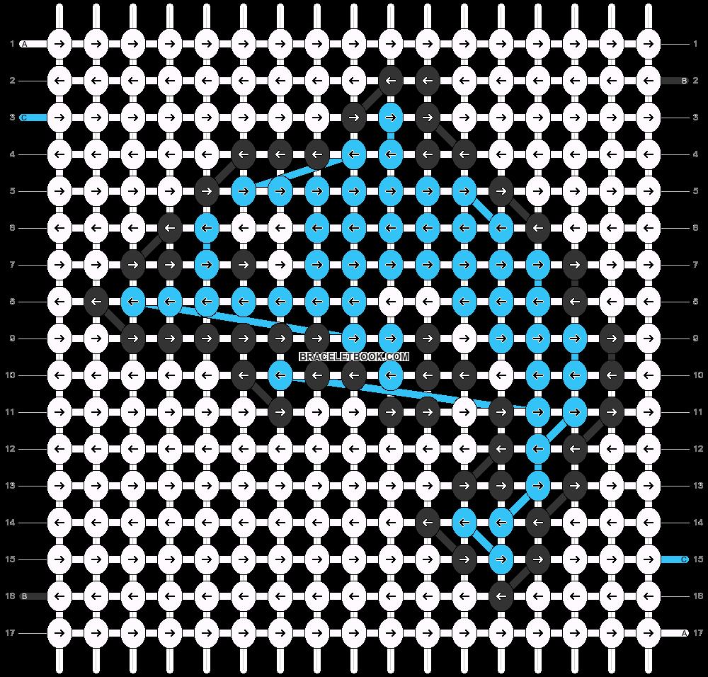 Alpha pattern #29612 pattern