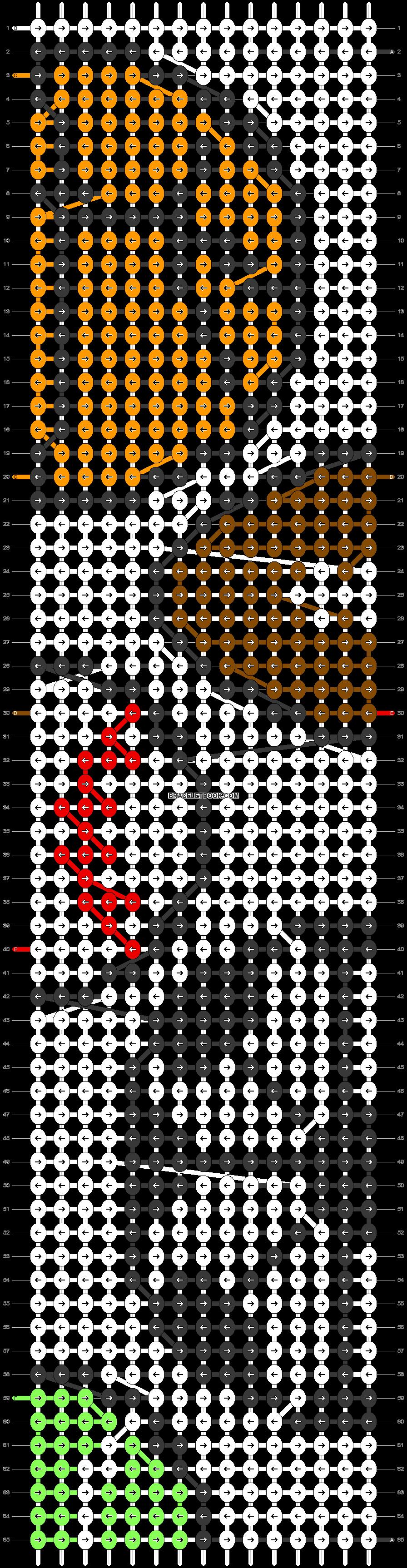 Alpha pattern #29681 pattern