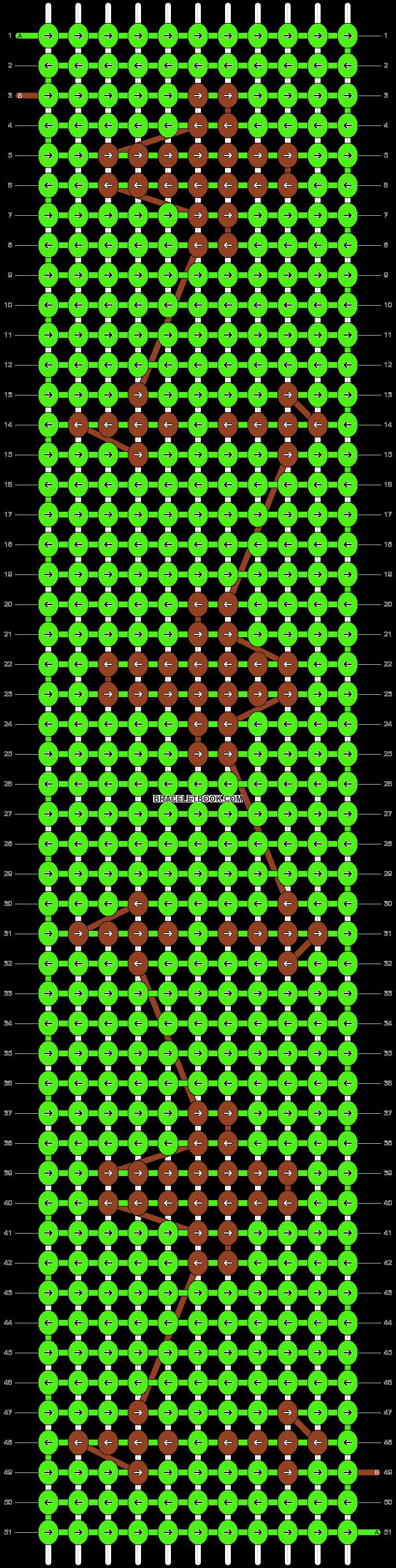 Alpha pattern #29685 pattern