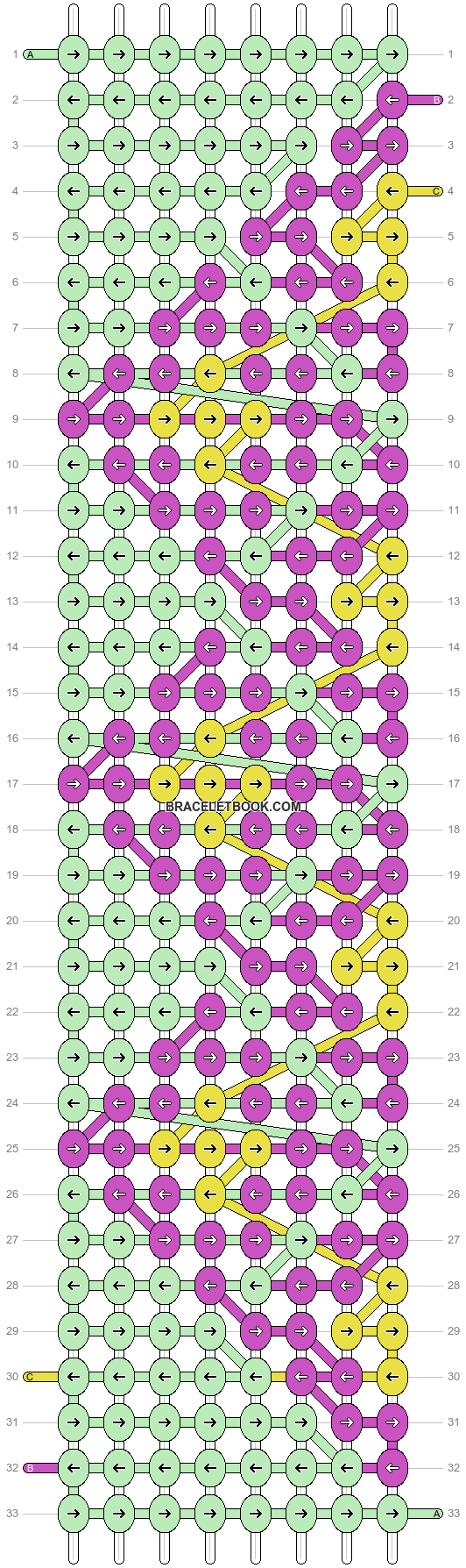 Alpha pattern #29686 pattern