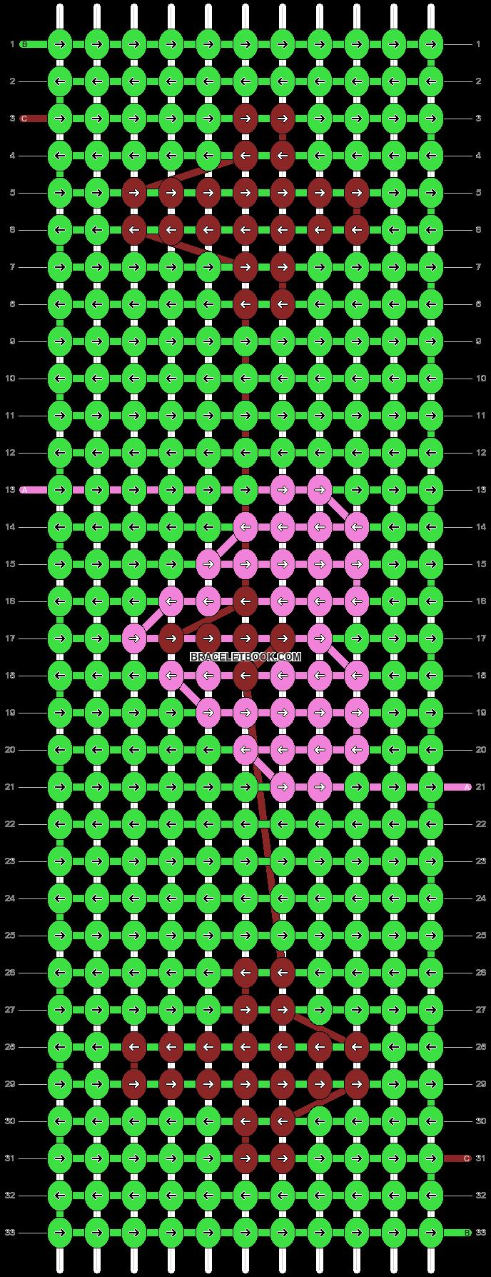 Alpha pattern #29687 pattern