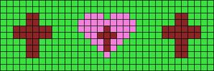 Alpha pattern #29687