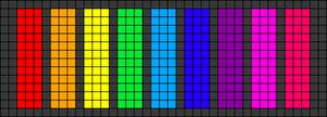 Alpha pattern #29701