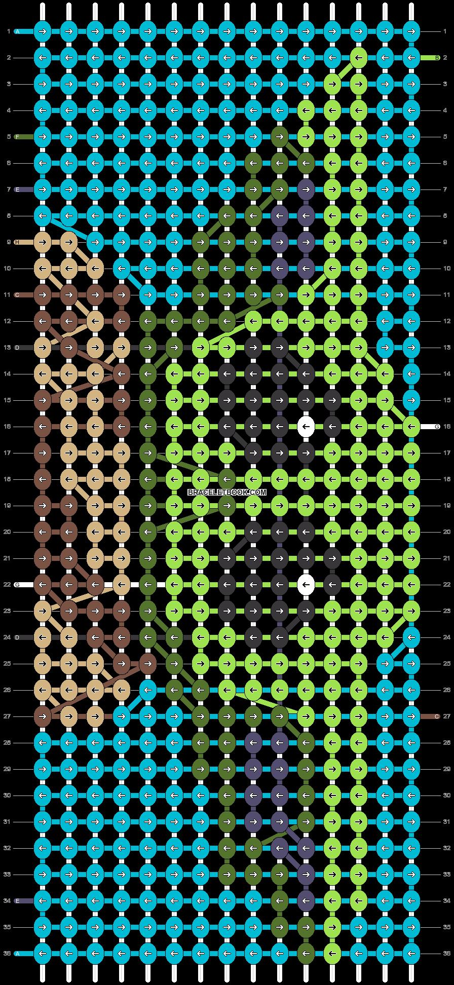 Alpha pattern #29713 pattern