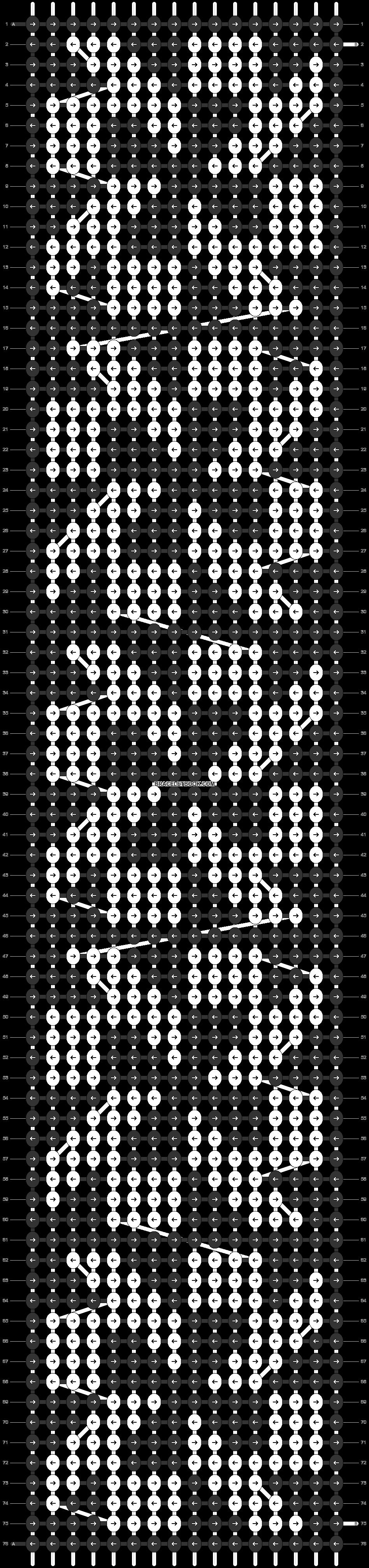 Alpha pattern #29721 pattern