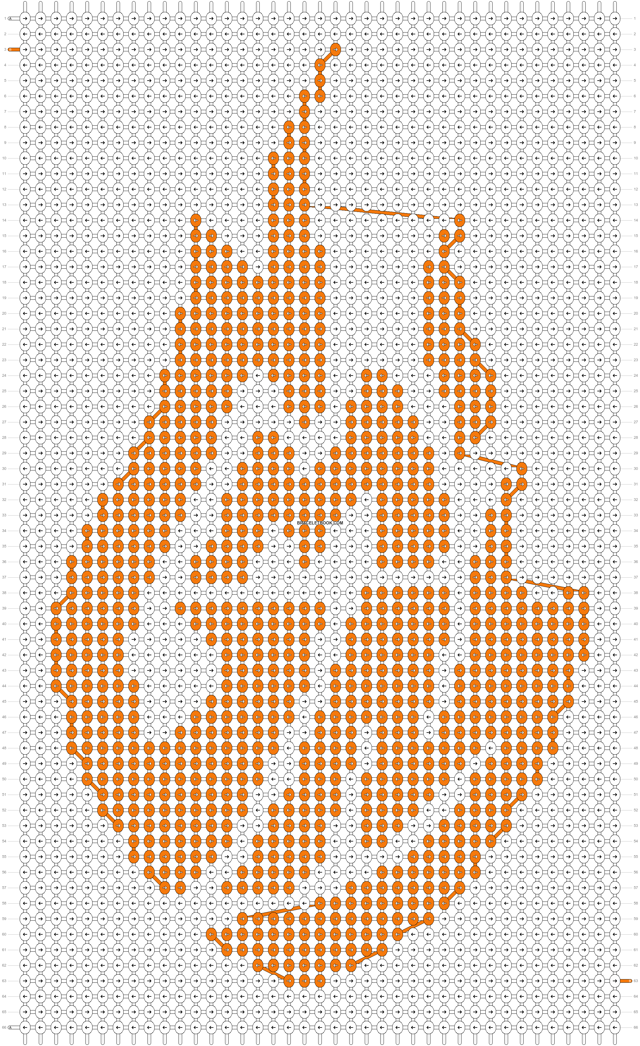 Alpha pattern #29730 pattern