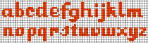 Alpha pattern #29750