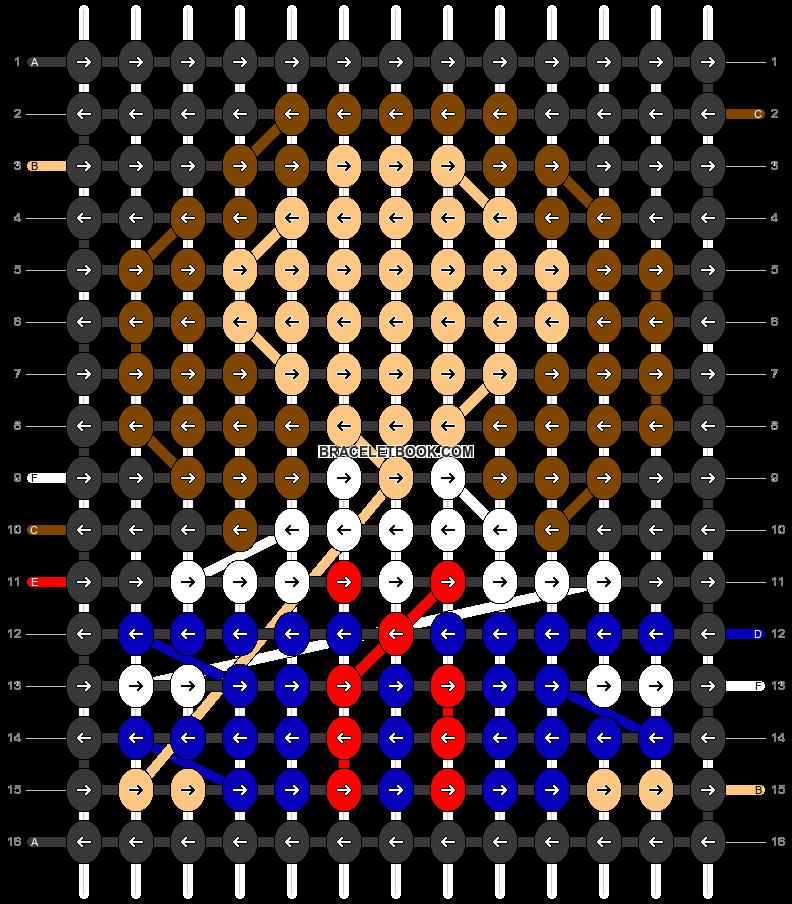 Alpha pattern #29757 pattern