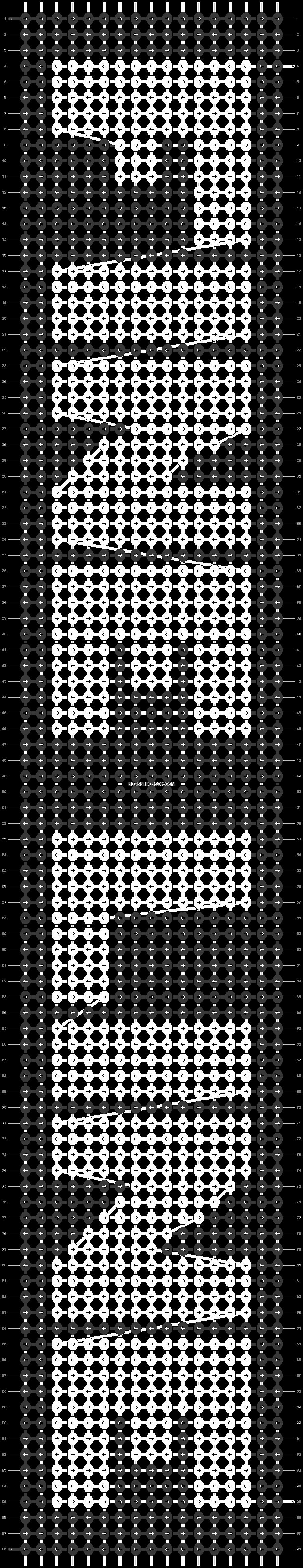 Alpha pattern #29780 pattern