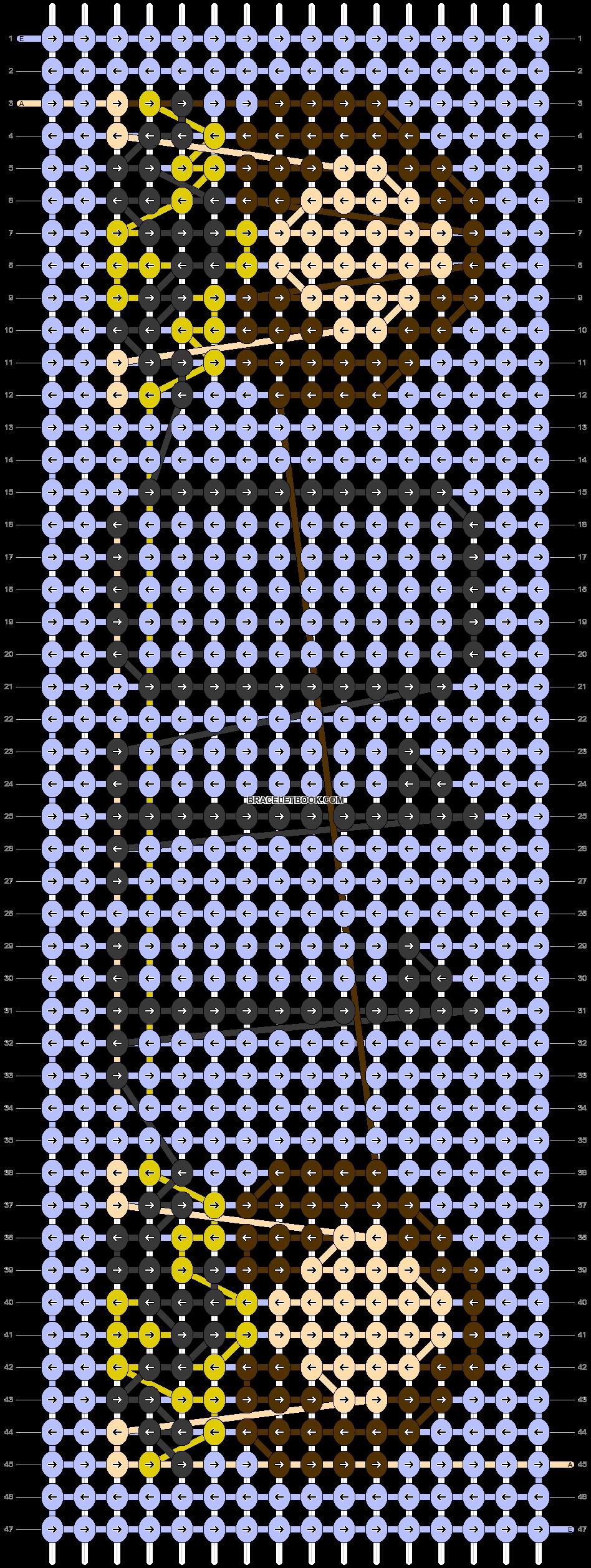 Alpha pattern #29784 pattern