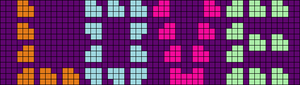 Alpha pattern #29787